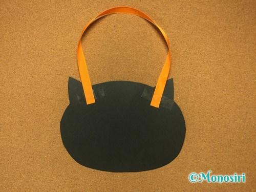 ハロウィンの画用紙バッグの作り方16