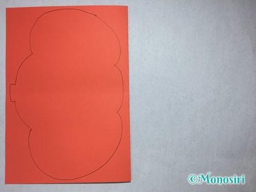 ハロウィンの画用紙バッグの作り方3