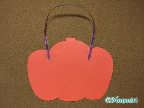 ハロウィンの画用紙バッグの作り方6