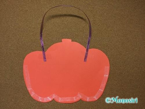 ハロウィンの画用紙バッグの作り方7