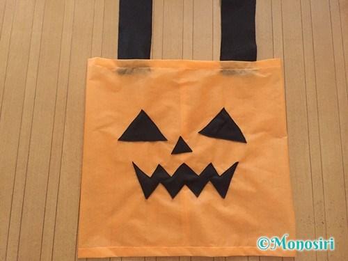 ハロウィンのかぼちゃ衣装の作り方10