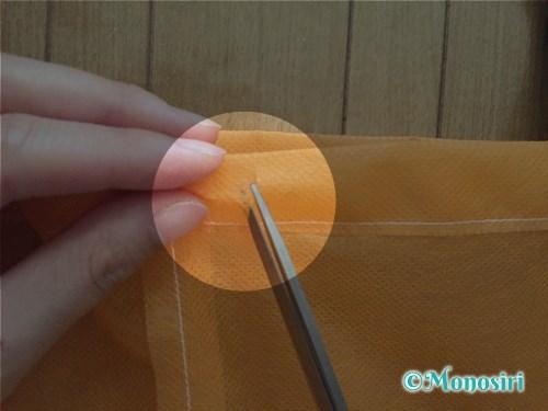 ハロウィンのかぼちゃ衣装の作り方12