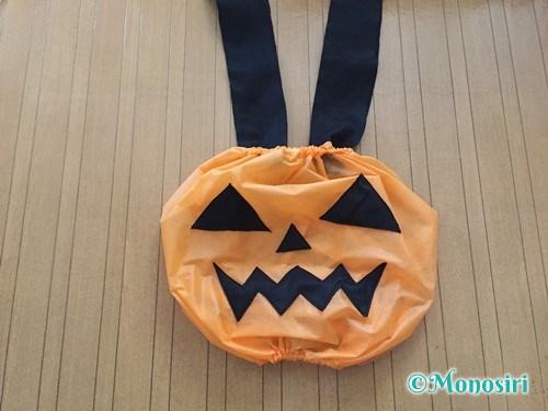 ハロウィンのかぼちゃ衣装の作り方15