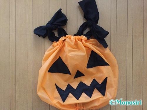 ハロウィンのかぼちゃ衣装の作り方16