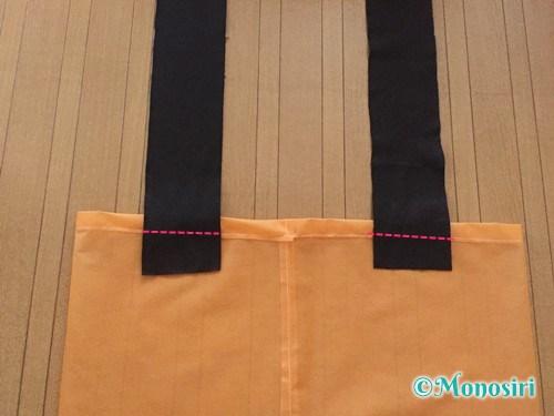 ハロウィンのかぼちゃ衣装の作り方5