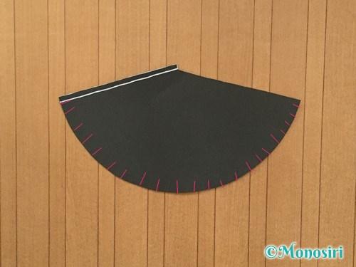 画用紙で魔女の帽子の作り方3