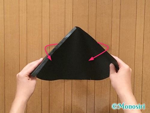 画用紙で魔女の帽子の作り方5