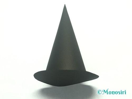 かぼちゃのお菓子入れ(帽子付き)の作り方26