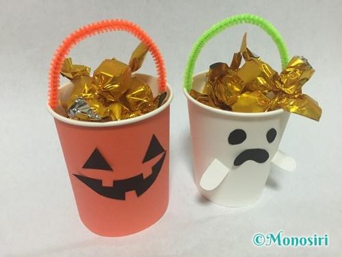 簡単なハロウィンお菓子入れの作り方18