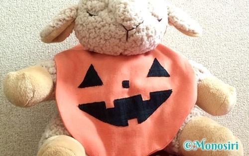 ハロウィンのかぼちゃスタイ
