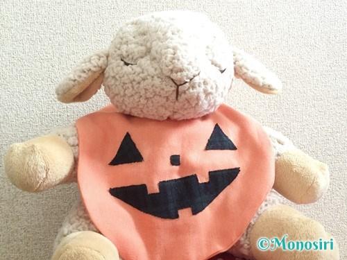 ハロウィンのかぼちゃスタイの作り方21