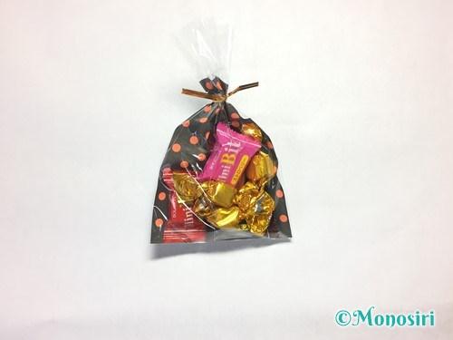 ハロウィンのお菓子のラッピング方法①-4