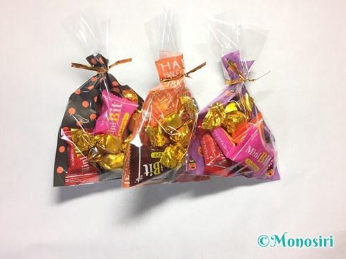 ハロウィンのお菓子のラッピング方法①-5