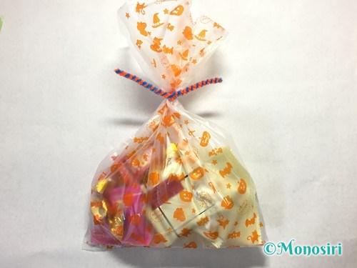 ハロウィンのお菓子のラッピング方法②-14