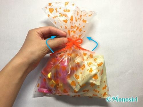 ハロウィンのお菓子のラッピング方法②-9