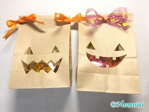 ハロウィンのお菓子のラッピング方法③-9