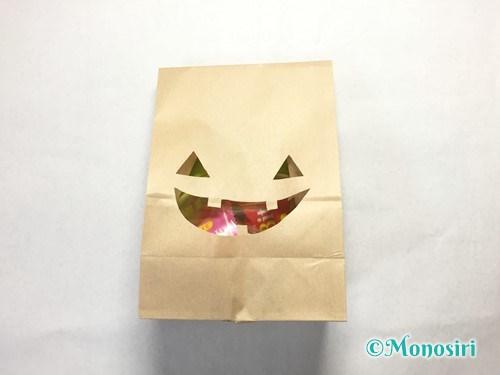 ハロウィンのお菓子のラッピング方法③-6