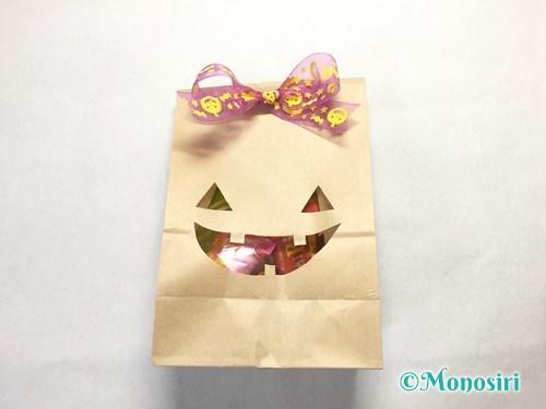 ハロウィンのお菓子のラッピング方法③-8