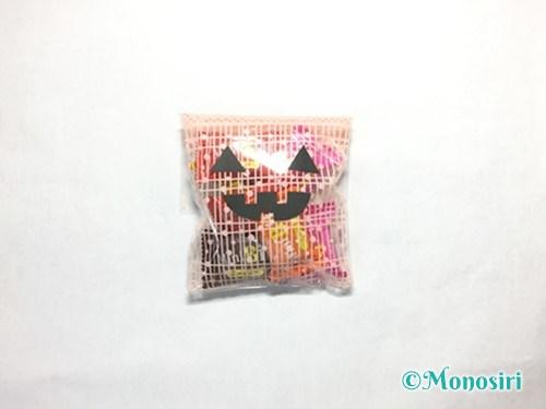 ハロウィンのお菓子のラッピング方法④-3