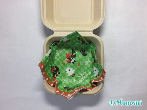 ハロウィンのお菓子のラッピング方法⑥-2