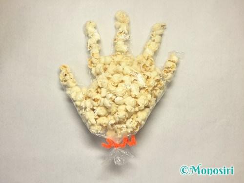 ハロウィンのお菓子のラッピング方法⑦-4