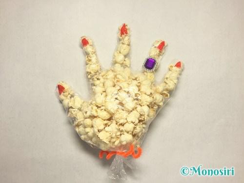 ハロウィンのお菓子のラッピング方法⑦-5