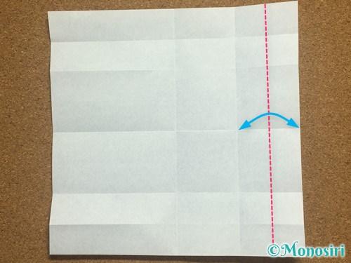 折り紙でアルファベットのCの折り方10