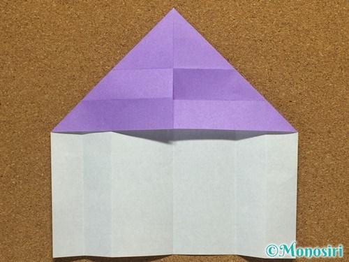 折り紙でアルファベットのMの折り方11