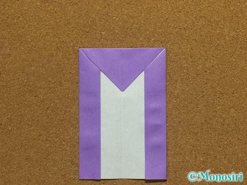 折り紙でアルファベットのMの折り方19