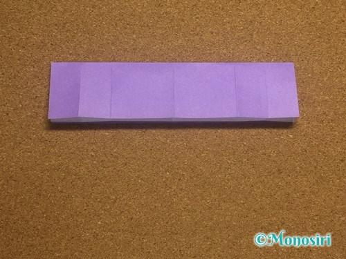 折り紙でアルファベットのRの折り方10