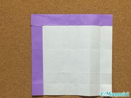 折り紙でアルファベットのRの折り方17