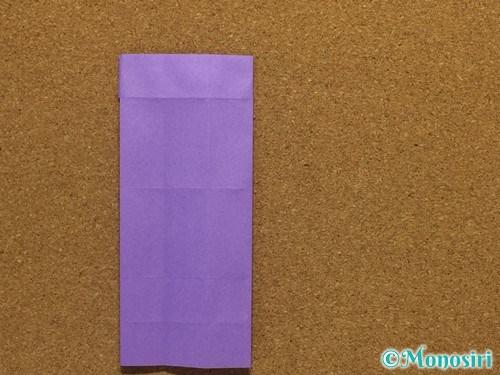 折り紙でアルファベットのRの折り方21