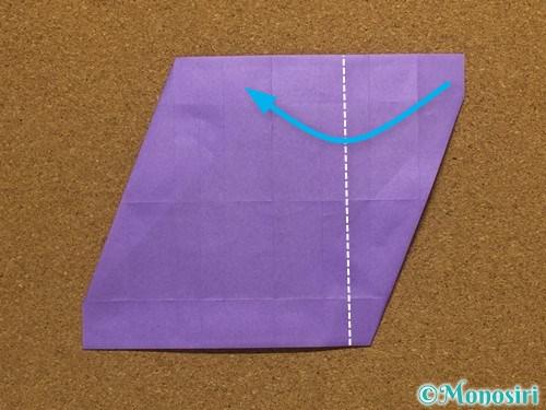 折り紙でアルファベットのSの折り方21