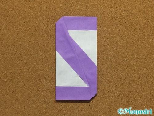 折り紙でアルファベットのSの折り方26