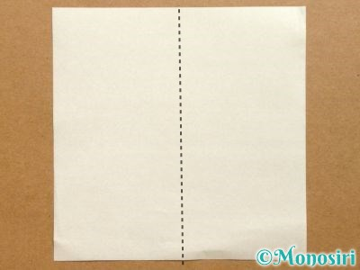 折り紙でベルの折り方1