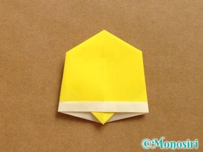 折り紙でベルの折り方12