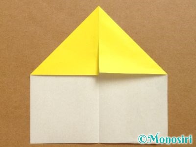 折り紙でベルの折り方3