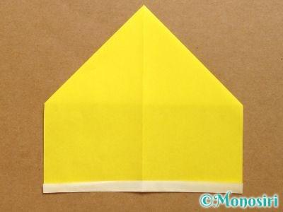 折り紙でベルの折り方5