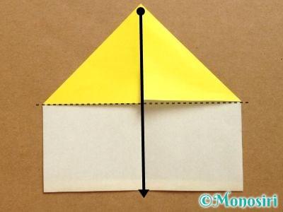 折り紙でベルの折り方6