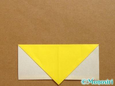 折り紙でベルの折り方7