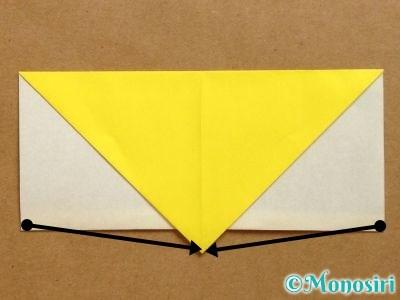 折り紙でベルの折り方8