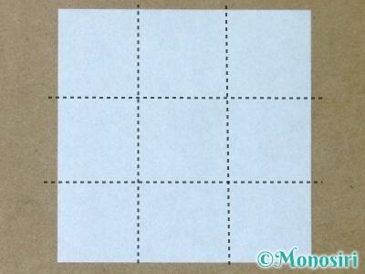 折り紙で立体的なクリスマスツリーの折り方30
