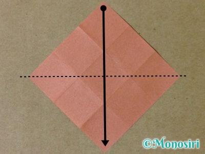 折り紙で立体的なクリスマスツリーの折り方31