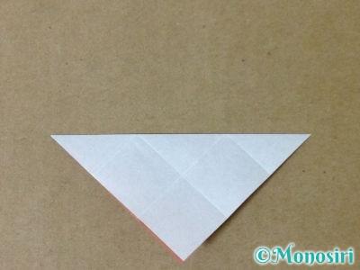 折り紙で立体的なクリスマスツリーの折り方32