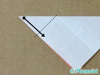折り紙で立体的なクリスマスツリーの折り方33