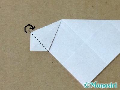 折り紙で立体的なクリスマスツリーの折り方35