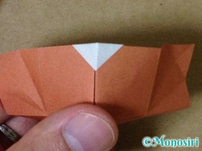 折り紙で立体的なクリスマスツリーの折り方42