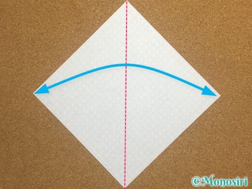 折り紙でガーランドの作り方1