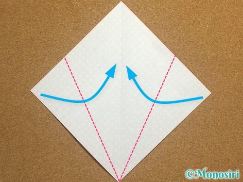 折り紙でガーランドの作り方2
