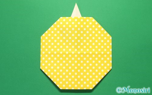 折り紙で折ったグラスボール